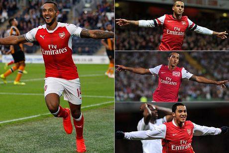 Theo Walcott thang hoa cung Arsenal: Dang sau mot su doi thay - Anh 1