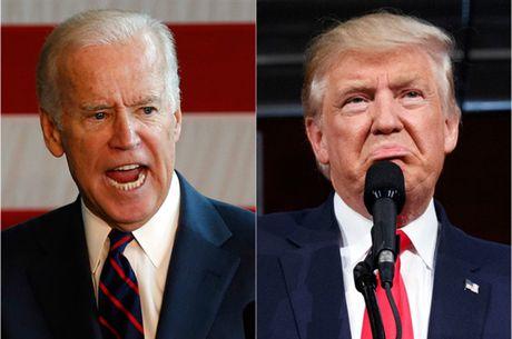 Ung ho Clinton, pho Tong thong Joe Biden muon dau vat tay doi voi Trump - Anh 1