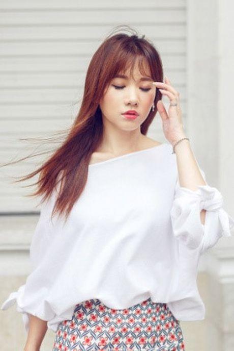 Hari Won tre trung xuong pho voi phong cach nang dong - Anh 6