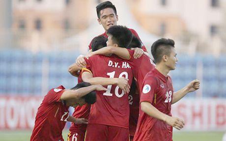 U19 Viet Nam quyen gop gan 15 trieu ung ho dong bao lu lut mien Trung - Anh 1