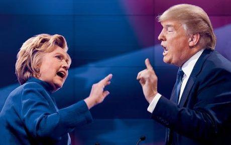 Trump-Clinton nhac den Nga va Putin nhieu nhat trong 3 lan tranh luan - Anh 1