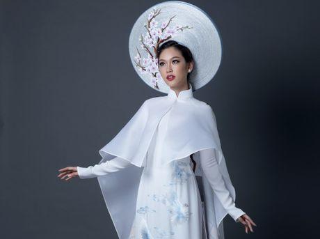 Phuong Linh cong bo trang phuc dan toc tai cuoc thi Miss International - Anh 1