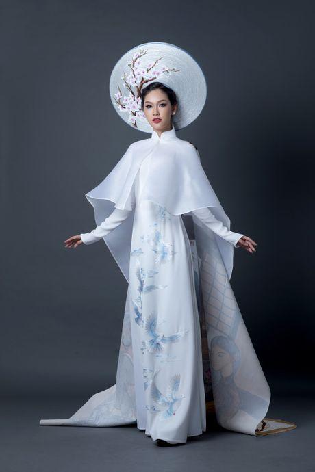 Phuong Linh cong bo trang phuc dan toc tai cuoc thi Miss International - Anh 2