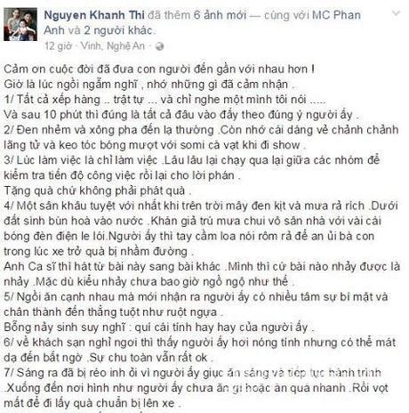 Khanh Thi du lich hoi suc sau tu thien cung Phan Anh - Anh 2