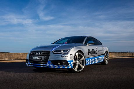 Audi S7 Sportback gia nhap Luc luong Canh sat - Anh 3