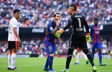 Messi sut thanh cong phat den roi chay toi khieu khich CDV Valencia - Anh 15