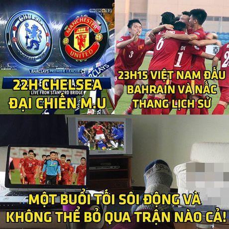 Anh che: Ro ri ket qua dai chien MU- Chelsea; 'Muu hen ke ban' day ray giang bay U19 Viet Nam - Anh 1