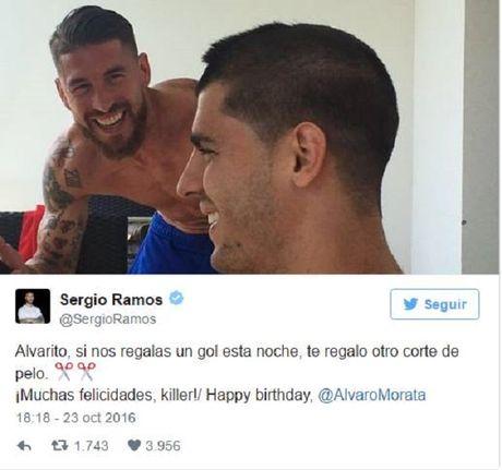 Ramos hua tang qua 'doc' neu Morata lap cong truoc Bilbao - Anh 1