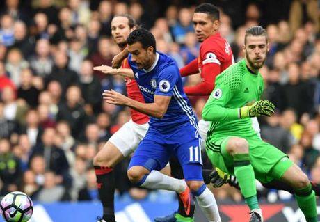 Pedro lap ky luc voi ban thang vao luoi Man United - Anh 1