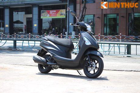 Yamaha Acruzo 'het cua' canh tranh Honda Lead tai VN - Anh 2