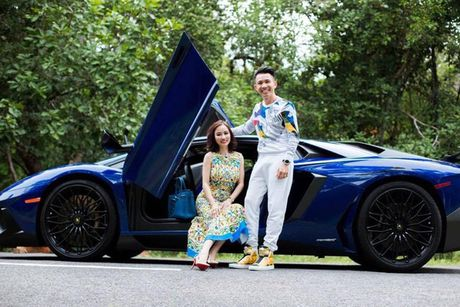 Minh Nhua cam lai 'sieu bo' Lamborghini Aventador SV - Anh 1