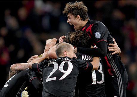 Juventus guc nga boi sieu pham cua cau thu tuoi teen AC Milan - Anh 1