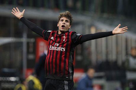 Juventus guc nga boi sieu pham cua cau thu tuoi teen AC Milan - Anh 2