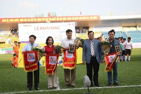 Khai mac vong chung ket U.21 Bao Thanh Nien: Ron vang Cam Pha - Anh 10