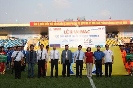 Khai mac vong chung ket U.21 Bao Thanh Nien: Ron vang Cam Pha - Anh 11