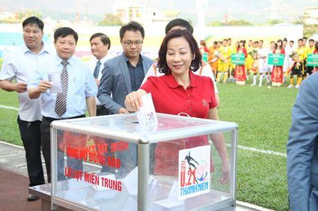 Khai mac vong chung ket U.21 Bao Thanh Nien: Ron vang Cam Pha - Anh 14