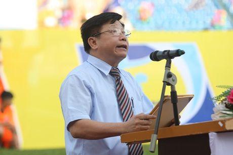 Khai mac vong chung ket U.21 Bao Thanh Nien: Ron vang Cam Pha - Anh 5