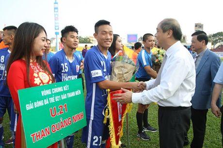Khai mac vong chung ket U.21 Bao Thanh Nien: Ron vang Cam Pha - Anh 9