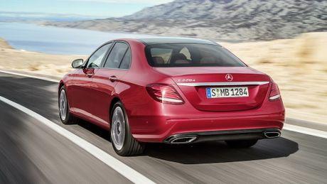 So sanh thiet ke va noi that Mercedes-Benz E-Class va BMW 5-Series 2017 - Anh 12