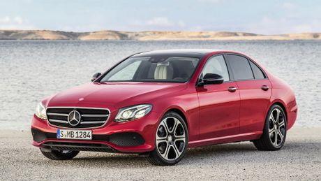 So sanh thiet ke va noi that Mercedes-Benz E-Class va BMW 5-Series 2017 - Anh 4