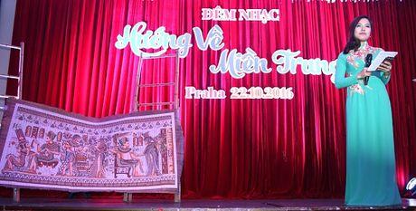 600 trieu dong ung ho mien Trung trong dem nhac va dau gia tai Sec - Anh 3