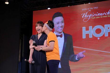 Tran Thanh bat khoc cam on va xin loi Hari Won vi da chon yeu minh - Anh 1