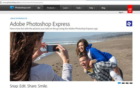 Cach chinh anh online tren website ma khong can tai Photoshop - Anh 3