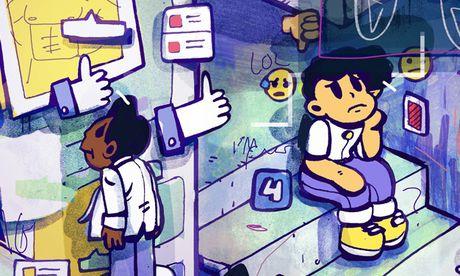 Facebook va cau chuyen 'song ao' cua gioi tre - Anh 1