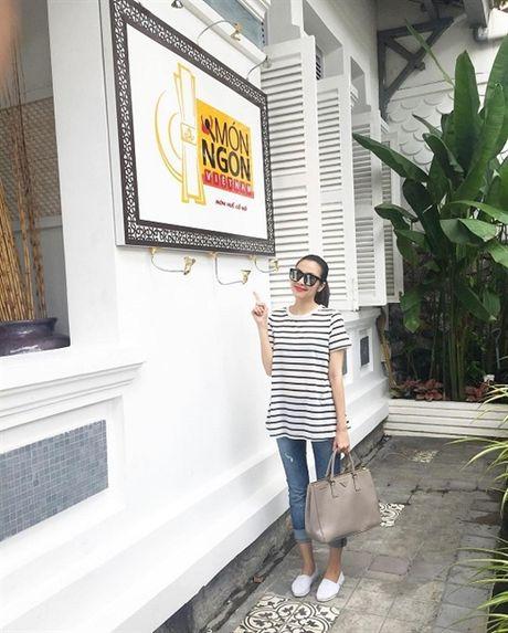 Pham Huong dien vay cong chua 'an dut' Thanh Hang, Ha Tang - Anh 4