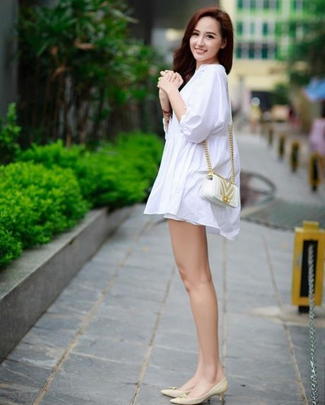 Pham Huong dien vay cong chua 'an dut' Thanh Hang, Ha Tang - Anh 8