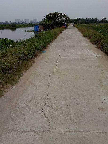 Duong be tong nong thon moi nat tuom vi 'co han su dung' o Thanh Tri - Anh 6