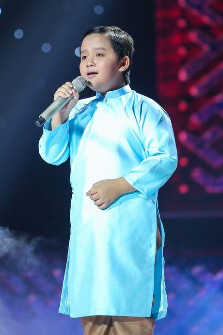 Liveshow 6 Giong hat Viet nhi 2016: Thuy Binh gay nao loan truong quay, Noo Phuoc Thinh bat khoc - Anh 11