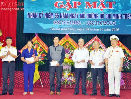 Ky niem 55 nam ngay mo duong Ho Chi Minh tren bien - Anh 2