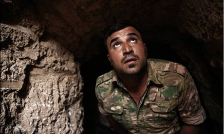 Chien truong tan khoc cho doi noi chao lua Mosul - Anh 1