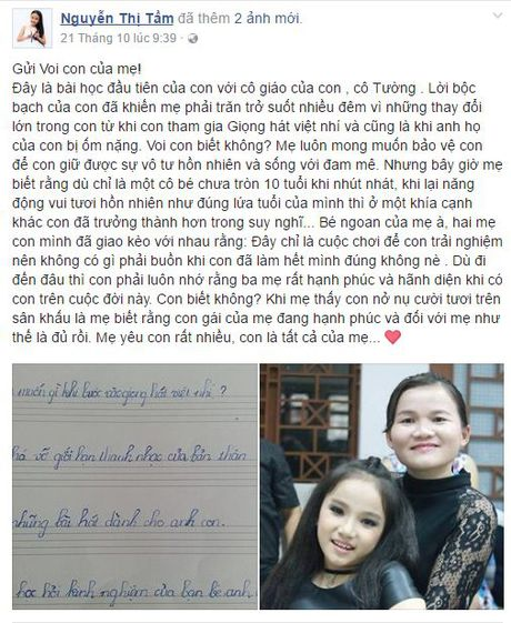 Xuc dong truoc ly do dac biet muon tham gia The Voice Kids cua Thao Nguyen - Anh 4