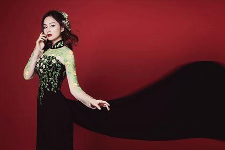 Lan Phuong ma mi trong ao dai chu de Halloween - Anh 8