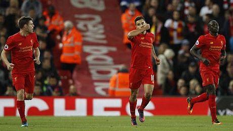 Vuot qua West Brom, Liverpool van xep sau Arsenal - Anh 1