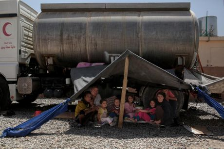 Bong toi cua Isis: Buc anh tu mien Bac Iraq - Anh 14