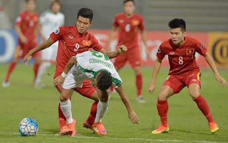 U19 Viet Nam vs U19 Bahrain: Quyet chien vi ve World Cup - Anh 1
