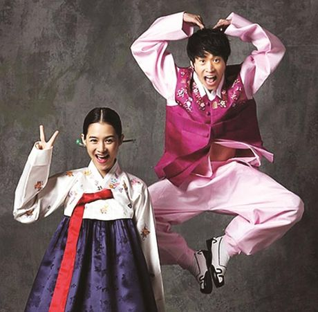 Cap doi Tablo - Hye Jung: Giay phut am ap la duoc ben con - Anh 1