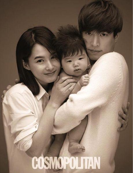 Cap doi Tablo - Hye Jung: Giay phut am ap la duoc ben con - Anh 3