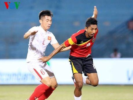 Doi hinh du kien giup U19 Viet Nam gianh ve du World Cup U20 - Anh 6
