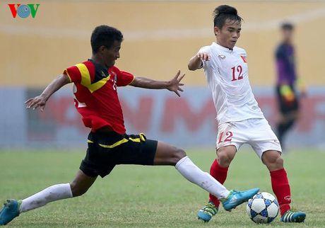 Doi hinh du kien giup U19 Viet Nam gianh ve du World Cup U20 - Anh 7