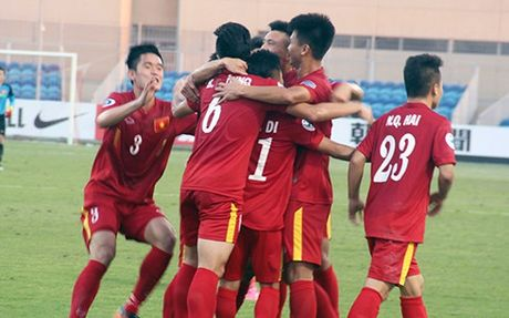 U19 Bahrain – U19 Viet Nam: Thang la co ve World Cup - Anh 1