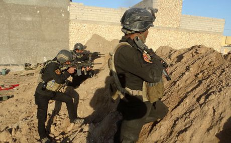 Iraq tieu diet 27 chien binh IS tai Kirkuk - Anh 1