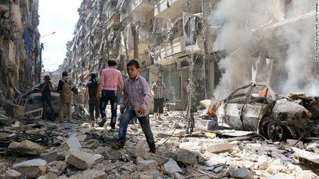 Syria: Khung bo pha hoai cong tac so tan dan thuong tai Aleppo - Anh 1