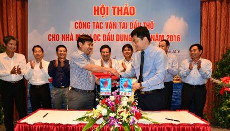600 chuyen dau tho cho NM Loc dau Dung Quat - Anh 1