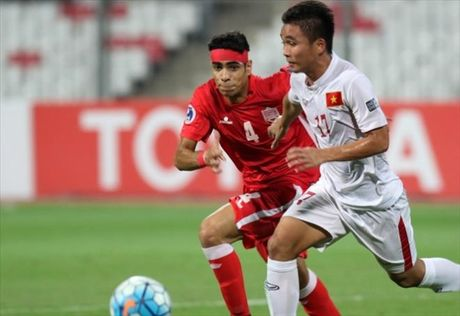 Clip U19 Viet Nam ha chu nha Bahrain doat ve du World Cup U20 - Anh 1