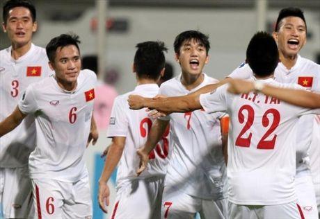 Ha chu nha Bahrain, U19 Viet Nam doat ve du World Cup U20 - Anh 1