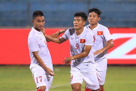 Ha chu nha Bahrain 1-0, U19 Viet Nam co mat World Cup U20 the gioi - Anh 1